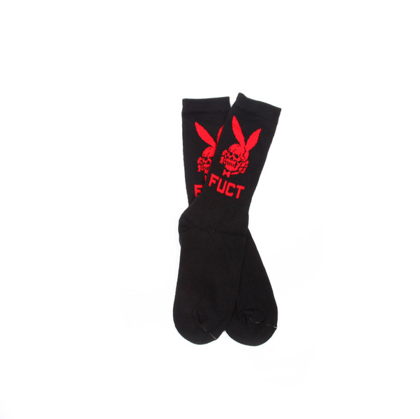 FUCT death bunny sock