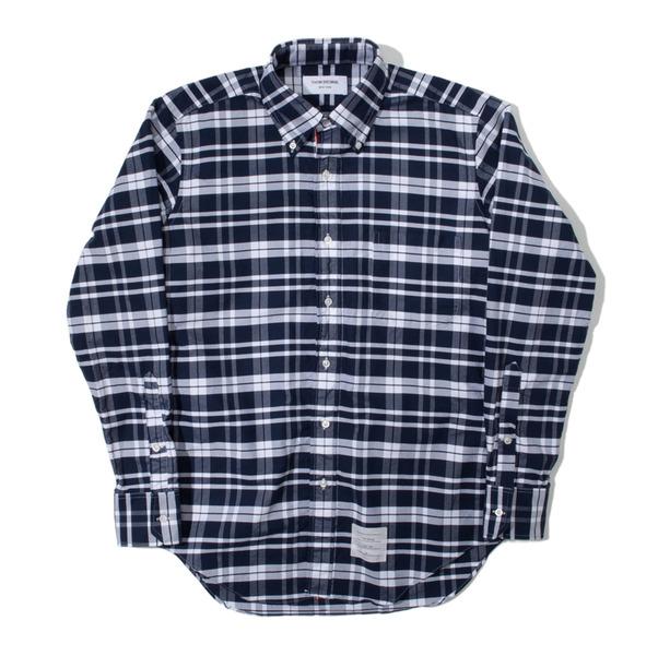 Thom Browne Check Oxford RWB Classic Shirt