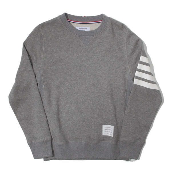 Thom Browne Loopback Crewneck Sweater