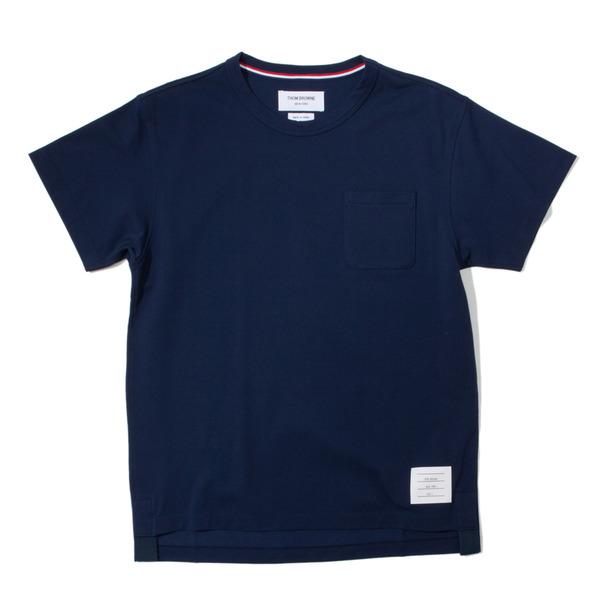 Thom Browne Oxford Pique Pocket T-shirt