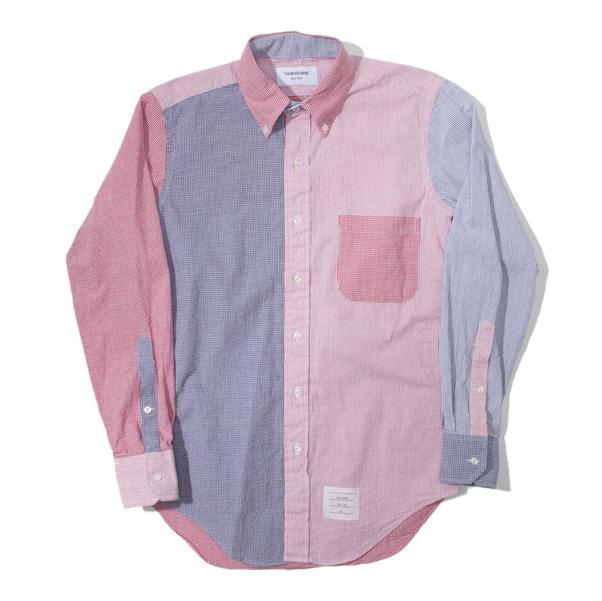 Thom Browne Seersucker Gingham Classic Shirt