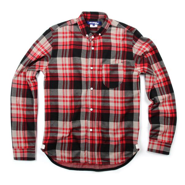 Comme Des Garcon By Junya Watanabe Plaid Check Shirt-3