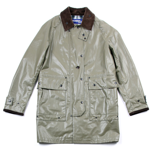 Comme Des Garcon By Junya Watanabe Trench Coat-4