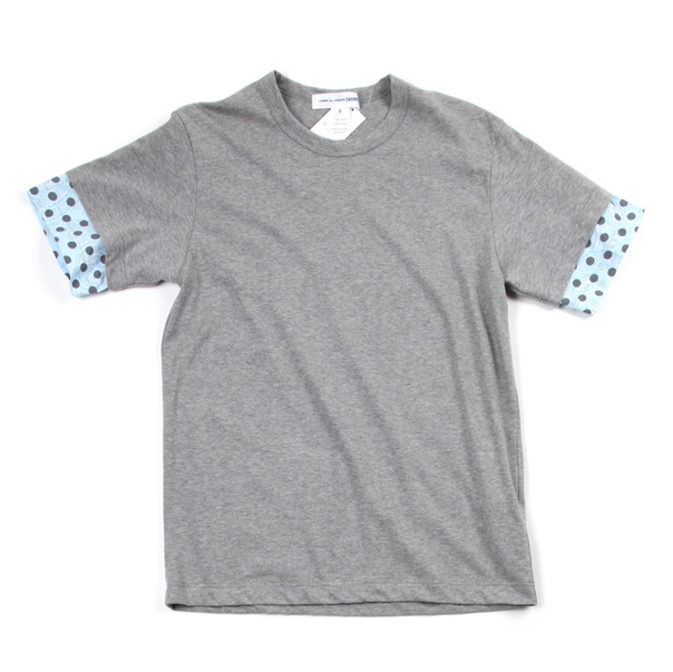 Comme Des Garcon SHIRT Polka Dot Sleeve Tee Shirt-4