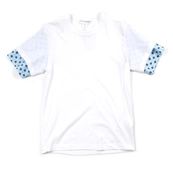 Comme Des Garcon SHIRT Polka Dot Sleeve Tee Shirt-6