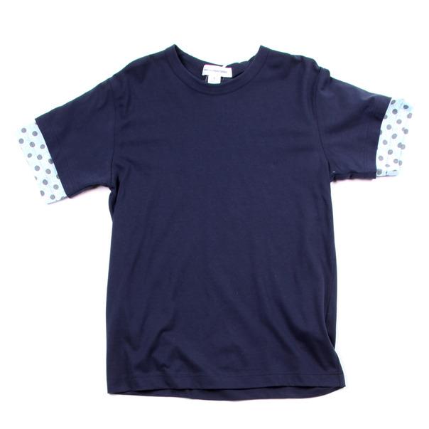 Comme Des Garcon SHIRT Polka Dot Sleeve Tee Shirt