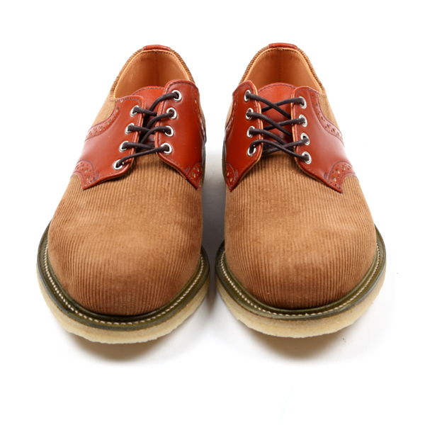 Mark McNairy Corduroy Saddle Shoe-7