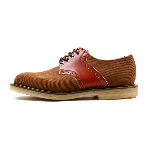 Mark McNairy Corduroy Saddle Shoe