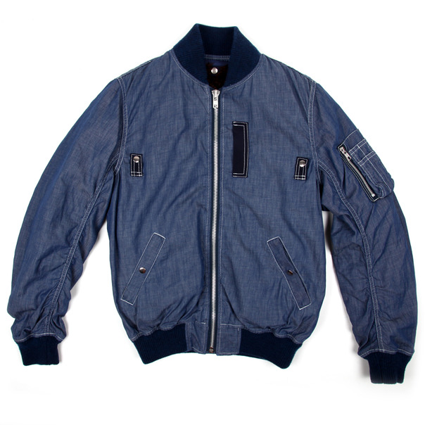 Sacai Chambray MA-1 Jacket