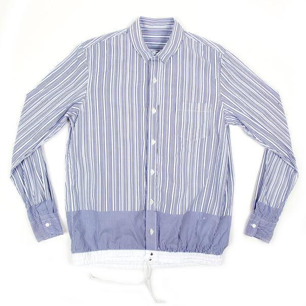 Sacai Stripe BD Shirt Elastic Cuff