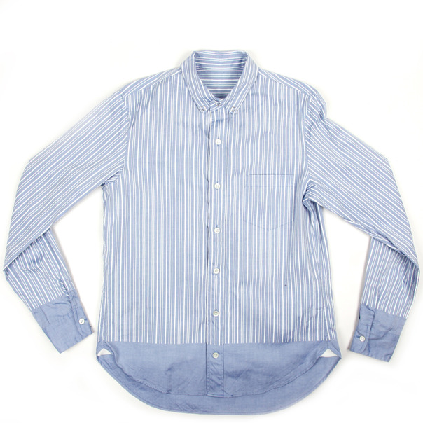 Sacai Stripe BD Shirt-5