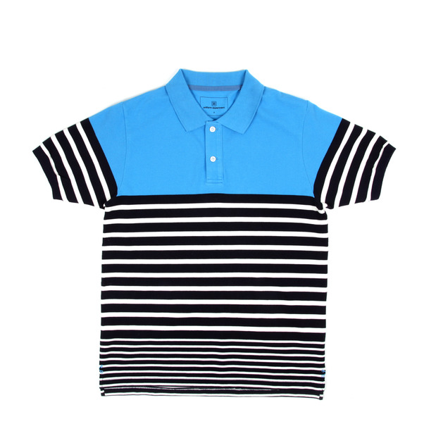 Uniform Expirment Border Stripe Polo-11
