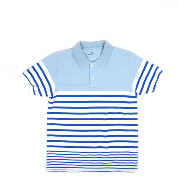 Uniform Expirment Border Stripe Polo-7 2