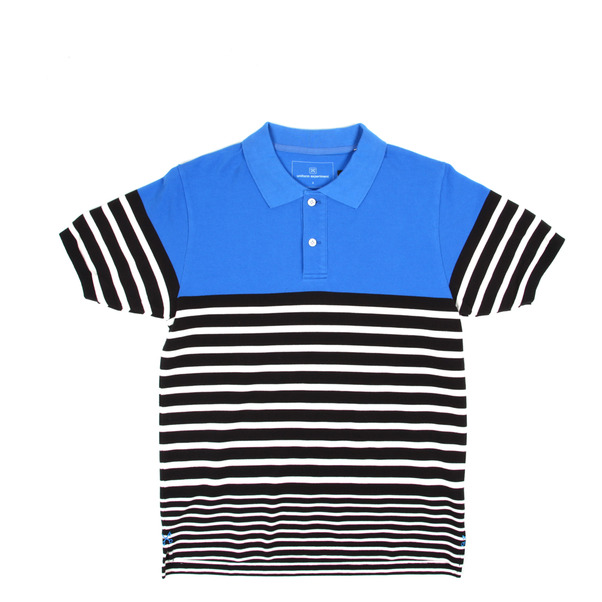 Uniform Expirment Border Stripe Polo