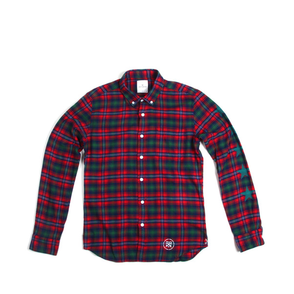 Uniform Expirment Five Star Flannel B.D. Shirt -8