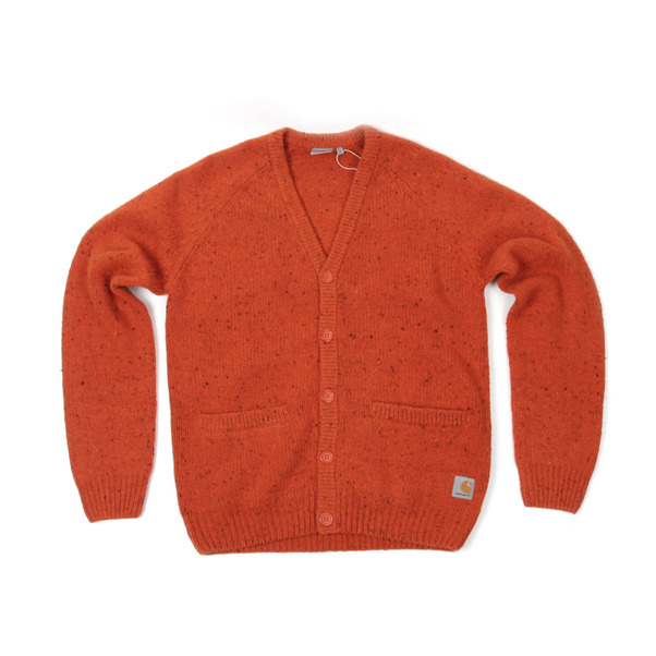 Carhartt  Work In Progress Anglistic V Neck Cardigan-7