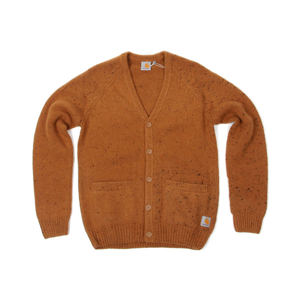 Carhartt  Work In Progress Anglistic V Neck Cardigan