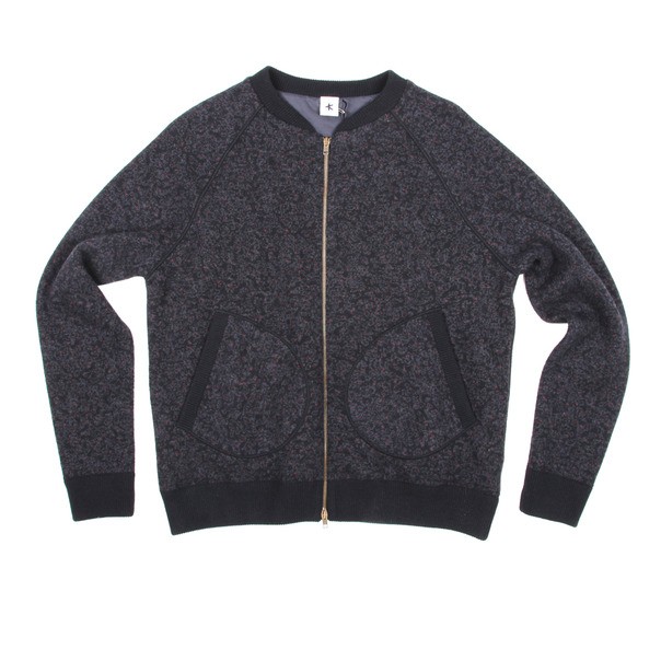 Adam Kimmel Knit Bomber Jacket