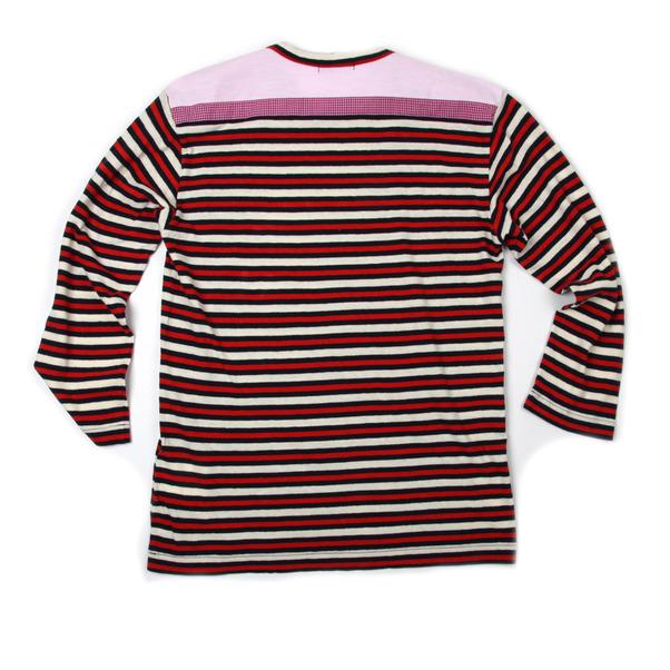 COMME des GARCONS HOMME Stripe L/S Tee Shirt