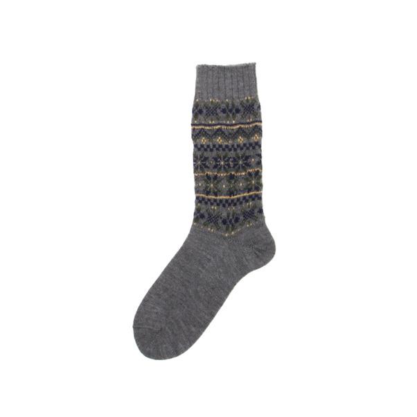 Comme des GARCONS Homme  Fair Isle Socks-12