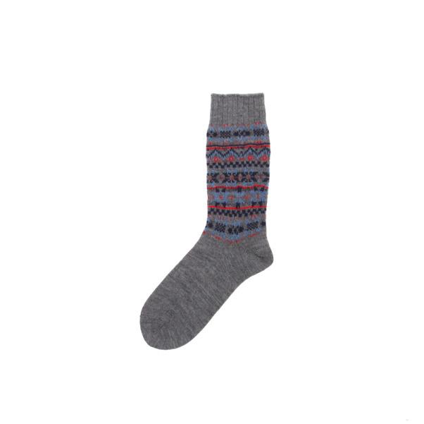 Comme des GARCONS Homme  Fair Isle Socks-5