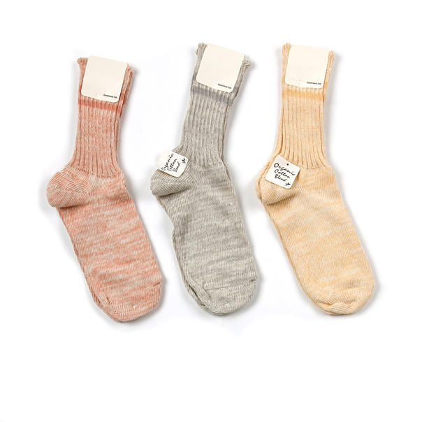 Anonmyous Heather Organic Cotton Socks