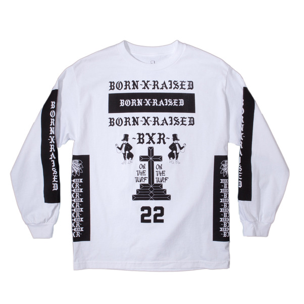 Born x Raised Nascar Long Sleeve Shirt