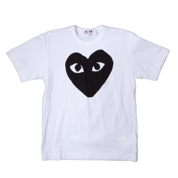 CdG Play Big Black Heart T-Shirt
