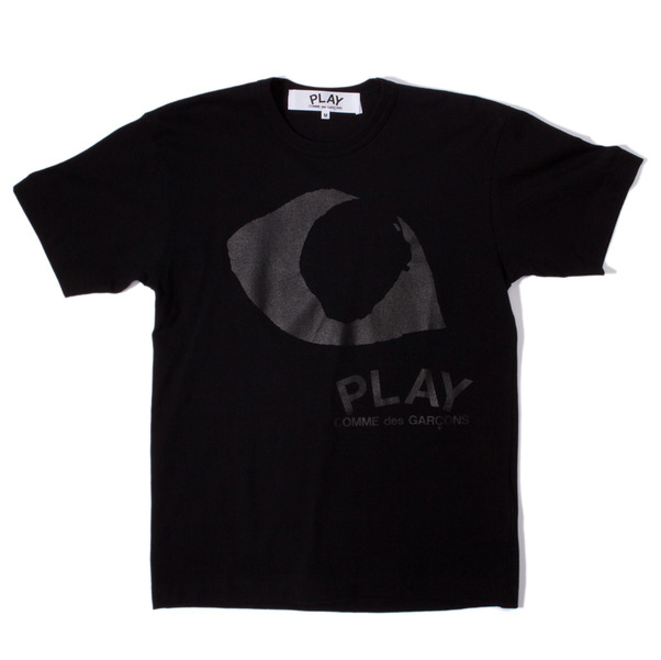 CdG Play Very Black Eyes T-Shirt
