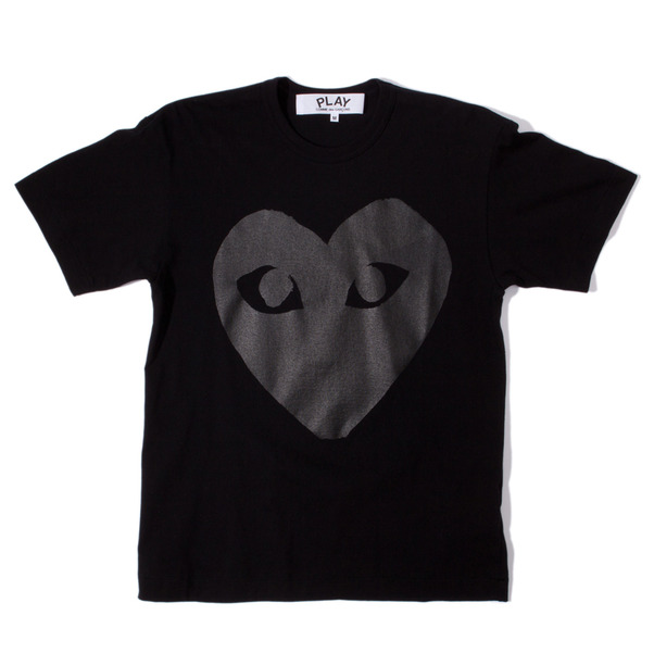 CdG Play Very Black Heart T-Shirt