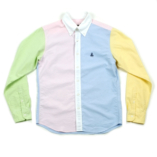 Multi Oxford B.D. Shirt