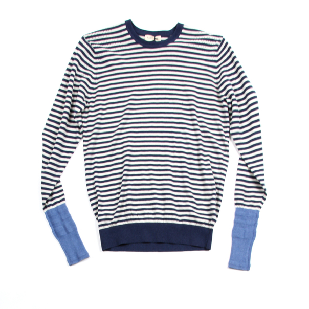 Folk Undergram Stripe Sweater