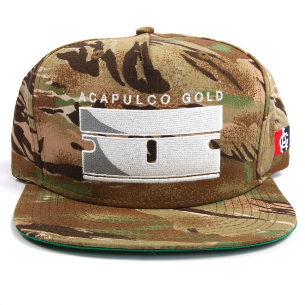 Acapulco Gold Razor Blade Snapback