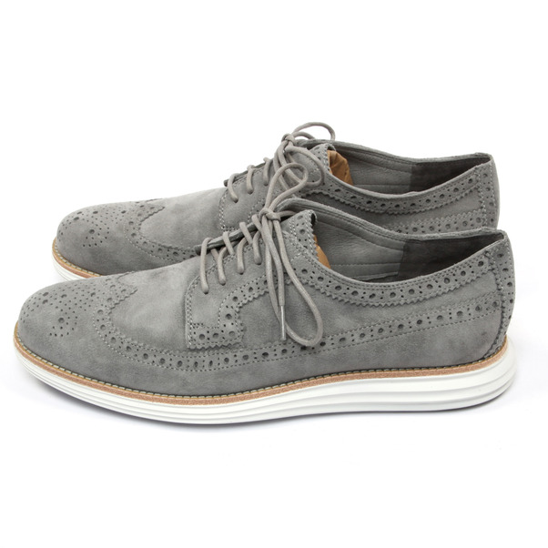 Cole Haan Lunargrand Wingtip Kudu Leather-2