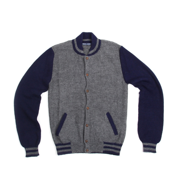 Monsieur Lacenaire Knit Teddy Jacket-7