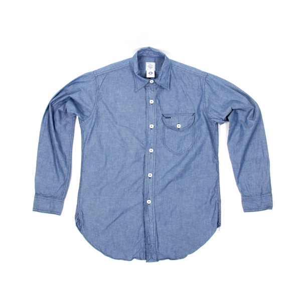 Post O Alls  Southern Chambray