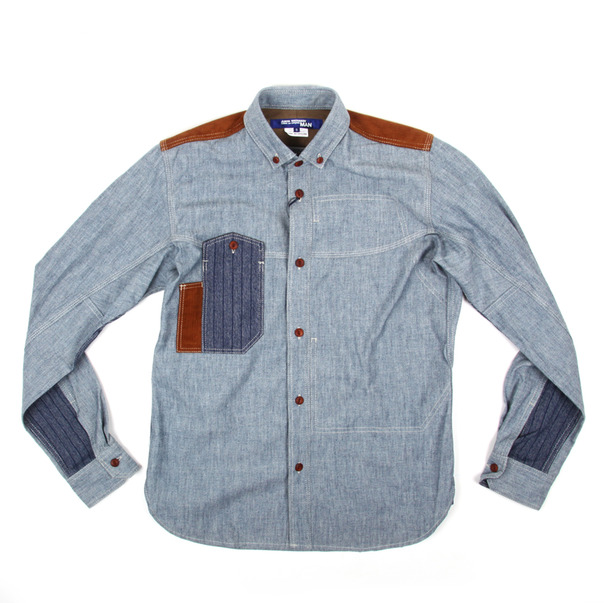 Junya Watanabe Twisted Chambray Shirt