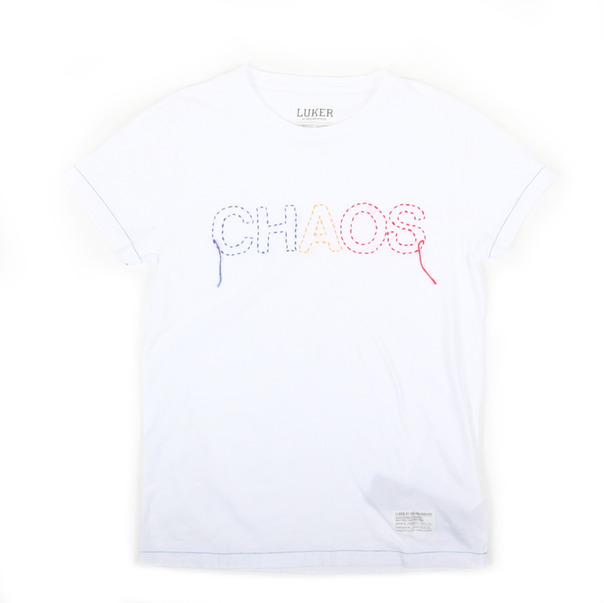 LUKER by Neighborhood NBHD Chaos Tee-4