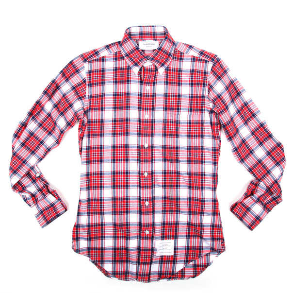 Thom Browne GG Plaid Flannel