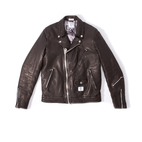 Bedwin Leather Double Riders Jacket-10