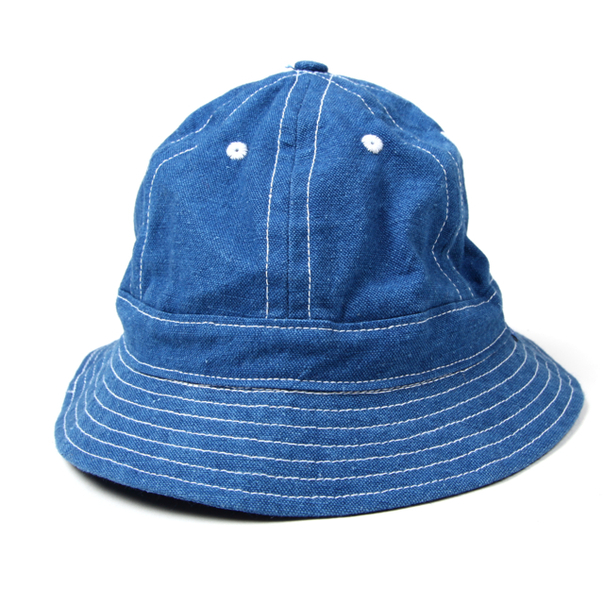 Tantum Bucket Hat Linen Denim