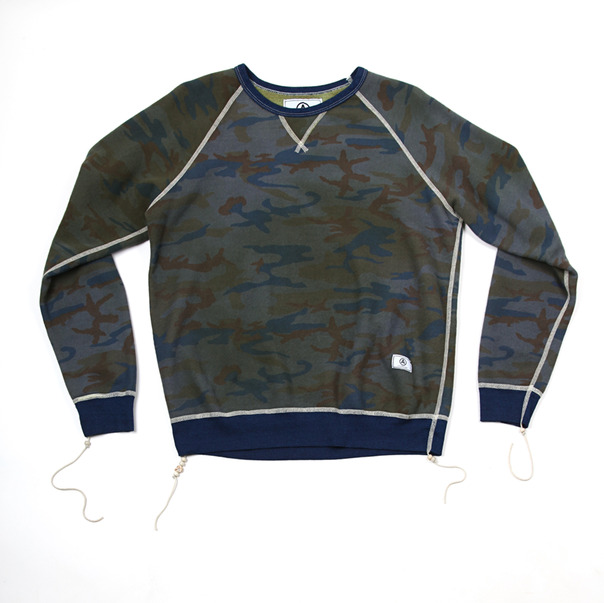 U.S. Alteration Camo Crewneck Sweater