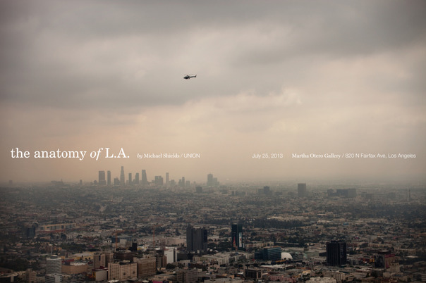 Michael Shields Anatomy of L.A. Poster