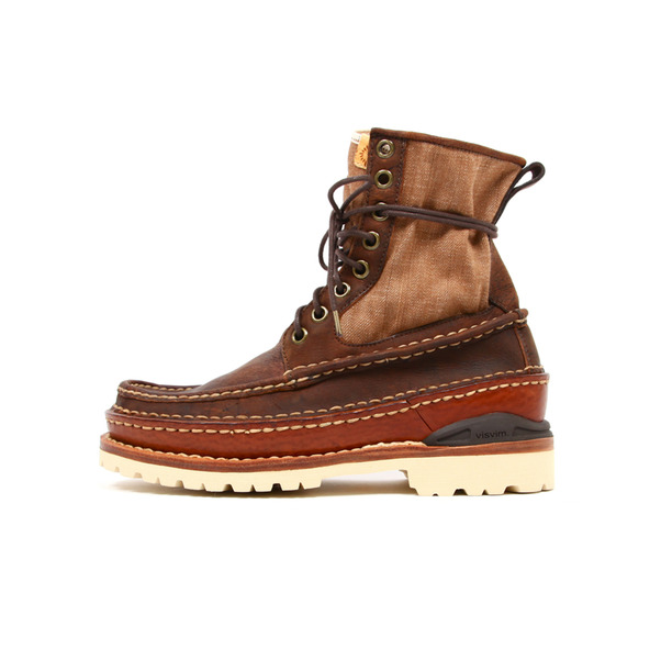 Visvim  Grizzly Boot Folk Denim-7