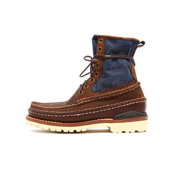 Visvim  Grizzly Boot Folk Denim-9