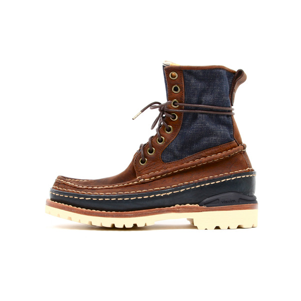 Visvim  Grizzly Boot Folk Denim