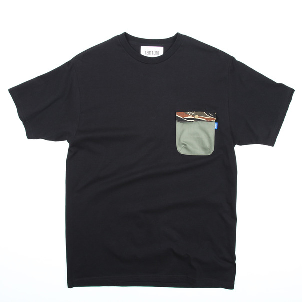 Tantum Pocket T-Shirt Camo Olive Drab