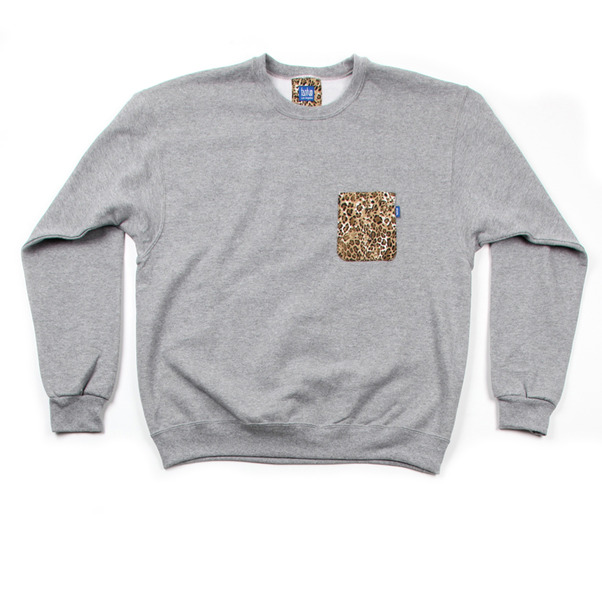 Tantum Pocket Crew Neck Sweater