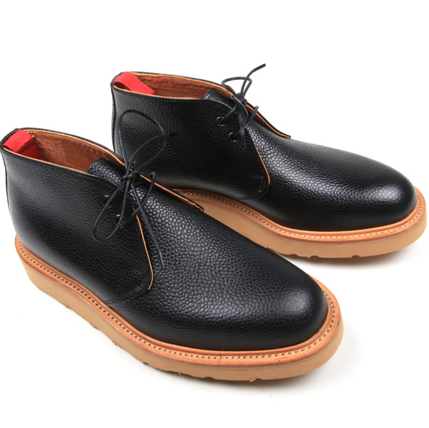 USSKB Mark McNairy Black Grain Chukka Boot-7