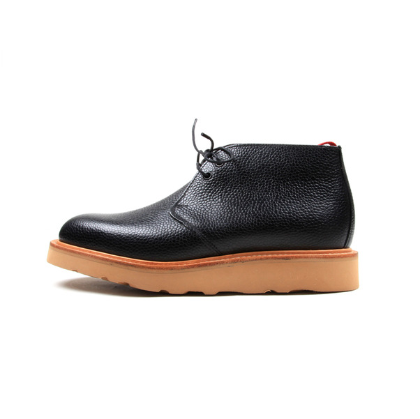 USSKB Mark McNairy Black Grain Chukka Boot